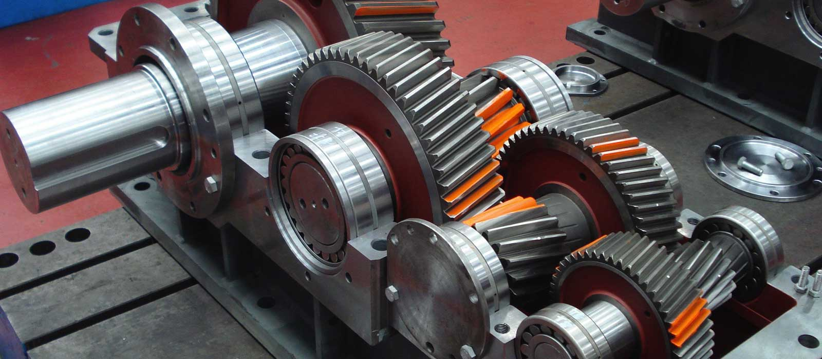 industrial gear box repair
